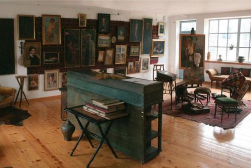 Atelier of Vlaho Bukovac