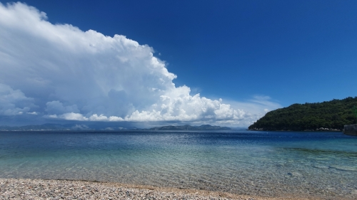 Photograph of a beach at Pelješac